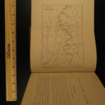 1881 1st ed Jules Verne 800 Leagues on the Amazon Illustrated MAP South America