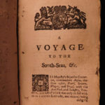 1744 RAREST George Anson Voyage to South-Seas South America Brazil Peru Chile