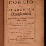 1668 Robert South Ecclesiastical Policy English Oliver Cromwell + Jasper Mayne