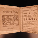 c1690 RARE Chapbook Emanuel Ford Montelion Romance Novel English Knight Chivalry