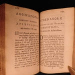 1682 Athenagoras Athens Early Church PAGANISM Cannibalism Marcus Aurelius Greek