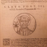1594 Lives of Popes Platina Catholic Church Sacchi PAGAN Halley Comet Sixtus II