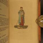 1828 1ed AUSTRIA by Shoberl Illustrated Costumes Moravia Czech Republic Croatia