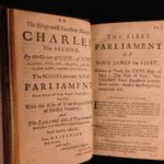1682 Murray Laws & Acts of Scottish Parliament Scotland Politics Edinburgh RARE