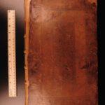 1685 1ed Brady History of England William the Conqueror Richard II Saxons FOLIO