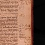 1547 LAW Andrea Alciati Commentary on Justinian Codex Catholic & Byzantine FOLIO