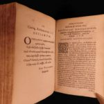 1597 Poetry of Oppian Greco-Roman FISHING & Hunting Commodus Greek Plantin RARE