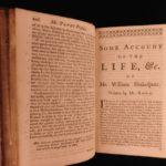 1760 PLAYS of Shakespeare Romeo & Juliet Hamlet Othello Much Ado 9v SET Hanmer