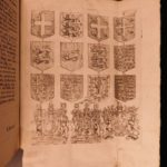 1718 1st ed Scottish Nisbet Essay on Armories Coats-of-Arms English HERALDRY