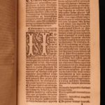 1526 Bible Sermons Medieval Menot Cordelier Monk France Chevallon Macaronic