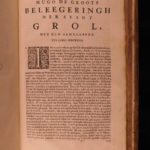 1681 Hugo Grotius Dutch Low Countries AMERICA Trade Indies Annals & Histories