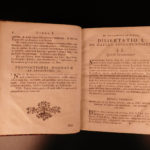1759 Vienna Austria Muszka Ecclesiastical Law Sacraments Character of God 4v