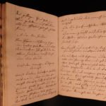 1794 Handwritten German Mansucript on Artzney-Buchlein Medicine Dentistry Diet