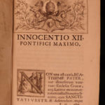 1698 1st ed EARLY CHURCH Documents Zaccagni Collectanea Monumentorum Euthalius