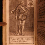 1690 Vulson's Lives of Illustrious Men Ambrose JOAN of ARC Pucelle Gaston Foix