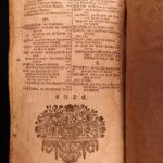 1726 Lutheran Protestant Zurich German Johann Arndt Samtliche Pigskin Binding