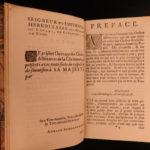 1699 Knights Chivalry DUTCH Military Orders Teutonic Illustrated 2v Schoonebeek