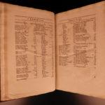 1682 English LAW Cases IRELAND England Charles II 5v HUGE FOLIOS + PROVENANCE