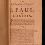 1708 Diocese of London Church of England St Paul's Essex 2v Newcourt Repertorium