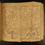 1721 Jacques Robbe Geography Nicolas de Fer MAPS Atlas China France Persia 2v