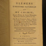1786 Elements of Chemistry Antoine Fourcroy Natural Science Medicine Agriculture