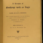 1880 1st ed Juliana Berners Book of Saint Albans FISHING Angling Compleat Angler