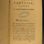 1805 1st LOUISIANA Voyages on Missouri River Perrin du Lac INDIANS Fur Trade