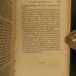 1849 1ed War of 1812 American Generals Andrew Jackson Winfield Scott WH Harrison