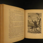 1875 1st US ed Mysterious Island Abandoned Jules Verne Shipwrecks 20000 Leagues