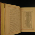 1874 Chisholm's Route NEW YORK & Canada St. Lawrence Niagara Illustrated MAPS