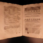 1696 History of Catholic Church Councils Marco Battaglini Italian Synods Venice