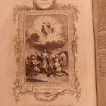1791 ENORMOUS English BIBLE + Swiss Osterwald Protestant Bewick Illustrated