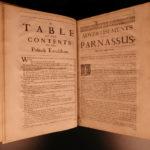 1674 Boccalini Parnassus Greek Mythology English Satire Italian Authors Monmouth