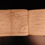 1798 1st ed Samuel Henshall KENT County MAP England Specimens & Parts Britain