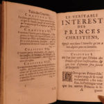 1686 Attack on Louis XIV of France French Politics Government Christian Princes