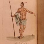 1788 COSTUMES Illustrated Inuit Eskimo Pacific Indians Alaska AFRICA Quakers