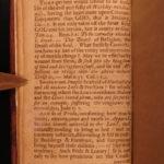 1728 EARLY BOSTON Divine Warnings Williams Sermon Puritan Sexuality Immorality