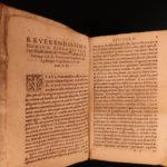 1577 JESUIT Confessional Antwerp Belgium Confession Methodus Confessionis RARE