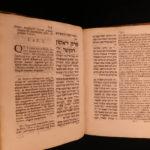 1679 1st ed HEBREW Moses Maimonides Jewish LAW Hebrew + Prideaux Latin Islam