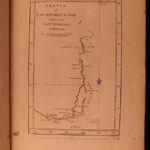 1777 1ed Captain James Cook 2nd Voyage MAPS Tahiti Antarctica Arctic COMPLETE 3v