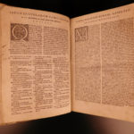 1552 CICERO Epistolae Letters Roman Republic Badius Manuzio Manutius + Egnazio