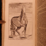1725 HORSES Gibson Farrier's Guide Hippology Equestrian Veterinary Medicine RARE