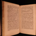 1690 1st ed History of WIGS & Headwear Hats Perruques French Clergy Jean Thiers