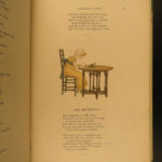 1883 1st ed Kate Greenaway Little Ann Other Poems Color Illustrated ART Taylor