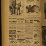 1875 Harper's Weekly PT Barnum Indians White SLAVES Gn Sheridan Illustrated HUGE