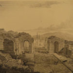 1824 Pompeiana Mount Vesuvius Volcano Ancient ROME Pompeii Illustrated 2v Gell