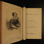 1851 Jenny Lind American Tour PT Barnum Swedish Lindomania Greatest Showman RARE