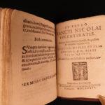 1586 Catholic Church Breviary Council of Trent Saints Martyrs Anthony of Padua