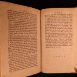 1787 1st ed EARLY Americana Quaker Memorials Philadelphia Pennsylvania Jersey