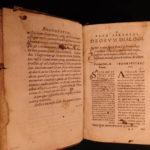 1576 Greek Mythology Lucian Samosata Dialogues + 1570 Nonnus Panopolis RARE 2in1